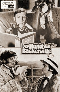 The Hound of the Baskervilles German Film Poster, 1978