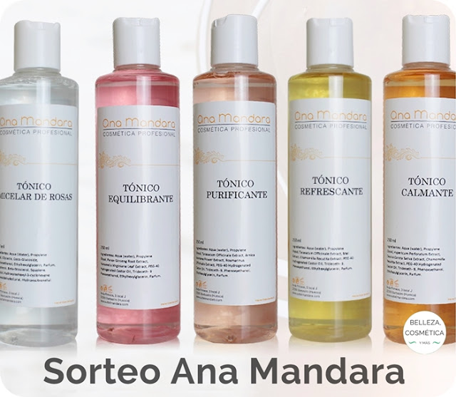 SORTEO ANA MANDARA