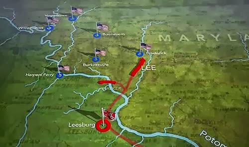 ProtoKnowledge Animated maps of US Civil War battles