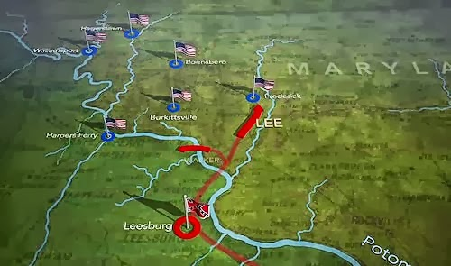ProtoKnowledge Animated Maps Of US Civil War Battles - Map Of The Us In The Civil War