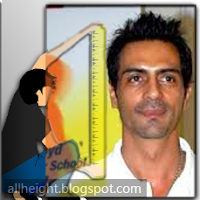 What is the height of Arjun Rampal?