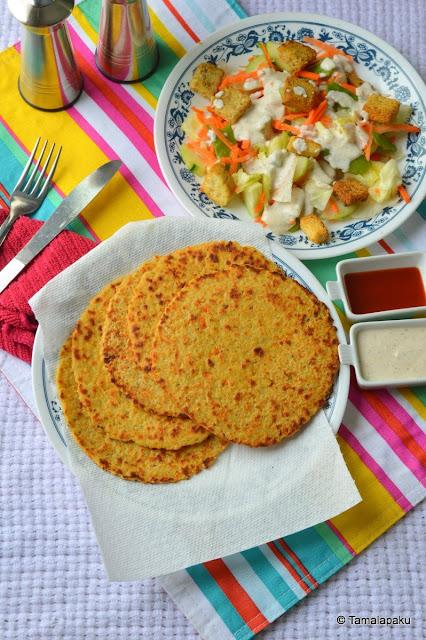 Cooked Rice Roti