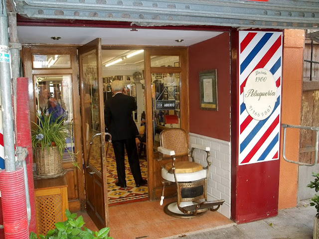 Oldest barber shop in Madrid on Semi-Charmed Kind of Life