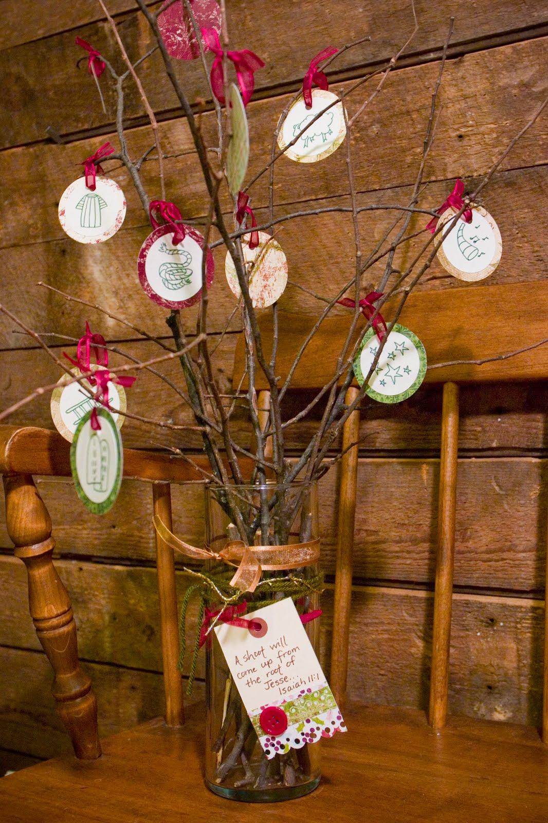 Christmas Tree Scripture