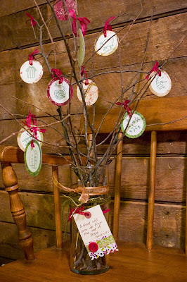 Homemade Jesse Tree with Scripture verses-The Unlikely Homeschool
