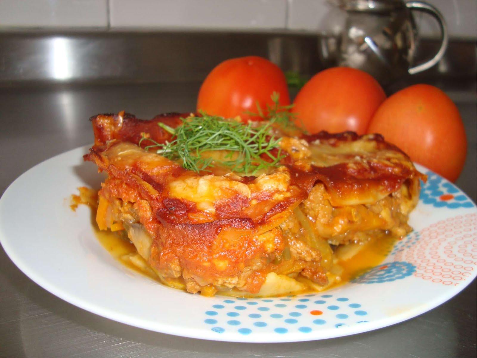 Deliciosa Lasagna Vegetariana