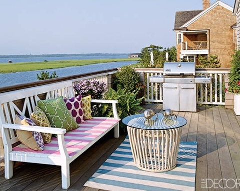 summer stripes in the Hamptons