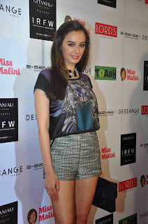 Evelyn Sharma, Sophie Choudry and Karishma Tanna at India Resort Fashion Week (IRFW)