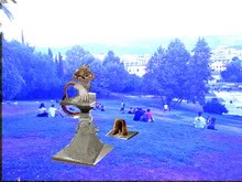 """UNHAPPY MONUMENTS"" ΥΠΑΙΘΡΙΑ ΟΜΑΔΙΚΗ ΕΚΘΕΣΗ ΣΤΟ ΠΑΡΚΟ ΕΛΕΥΘΕΡΙΑΣ"