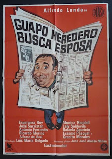 Guapo heredero busca esposa | 1972 | Alfredo Landa