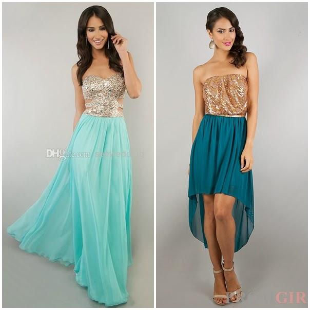 Sweet 15 Dresses Aqua hd gallery