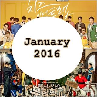 6 Drama Korea yang Tayang Januari 2016