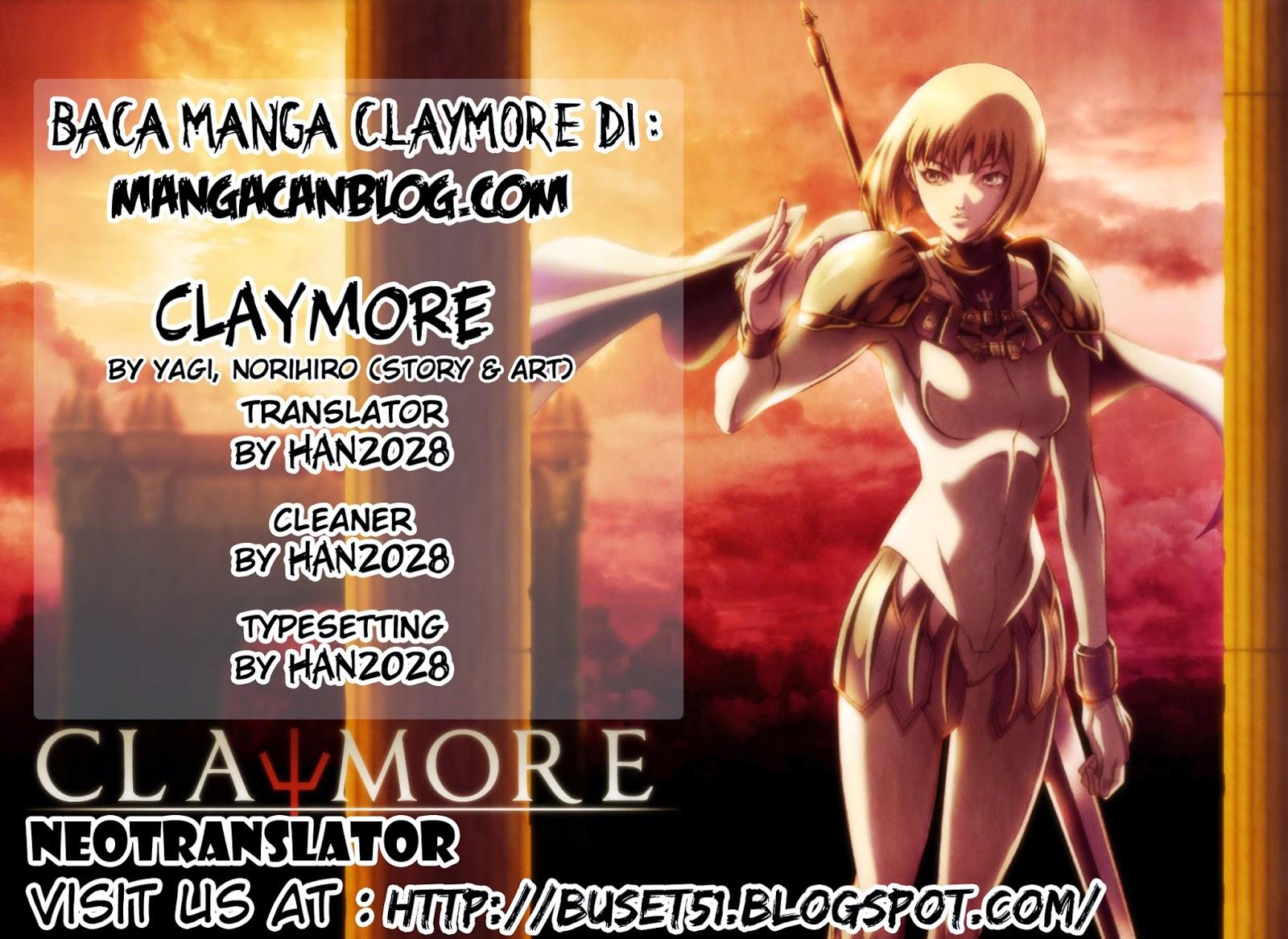 claymore+credit+copy Claymore   140 Pedang Kesucian