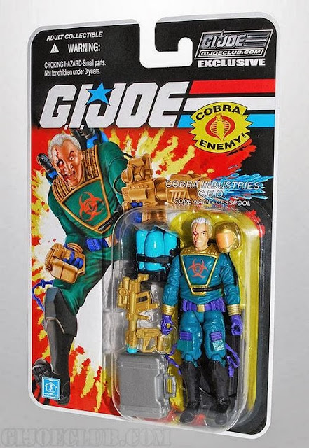 Hasbro GI Joe Club Subscription Service 2.0 Cesspool Figure Carded