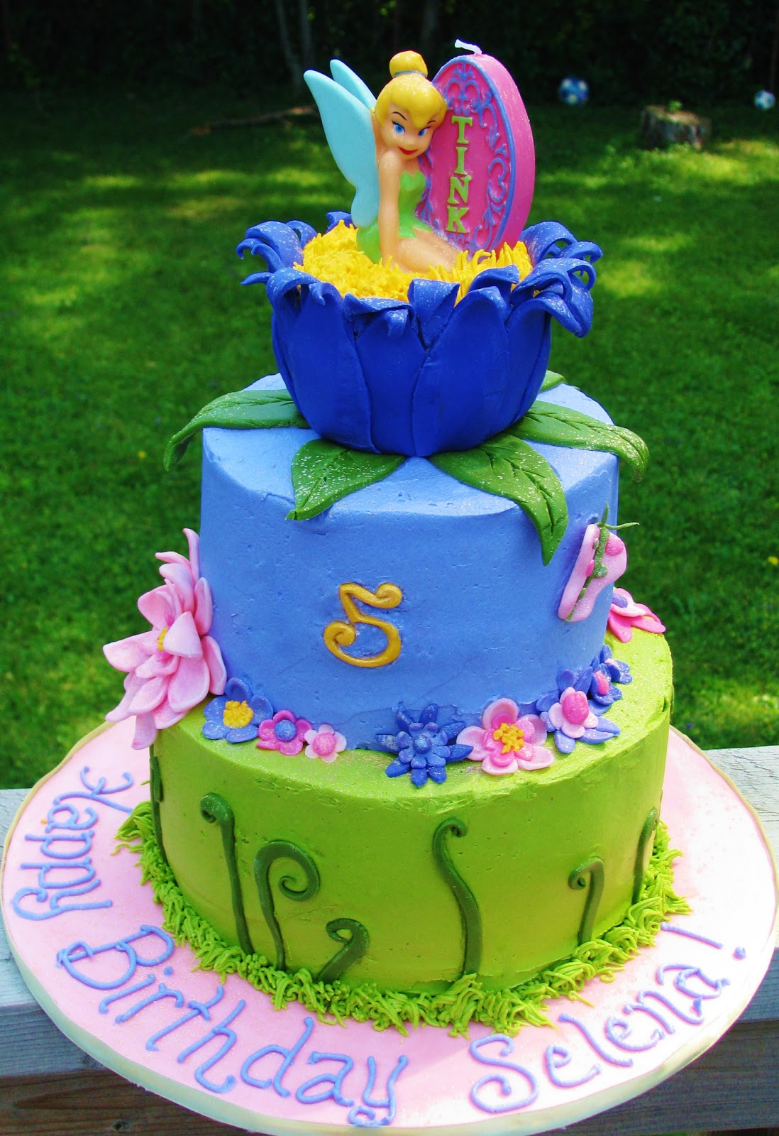 Bliss Cakes Of London Tinkerbell