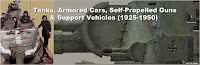 Tanks, Armored Cars, Self-Propelled Guns & Support Vehicles (1925-1950)