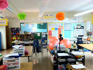 photo of classroom photo Teaching With Style organization 3rd grade