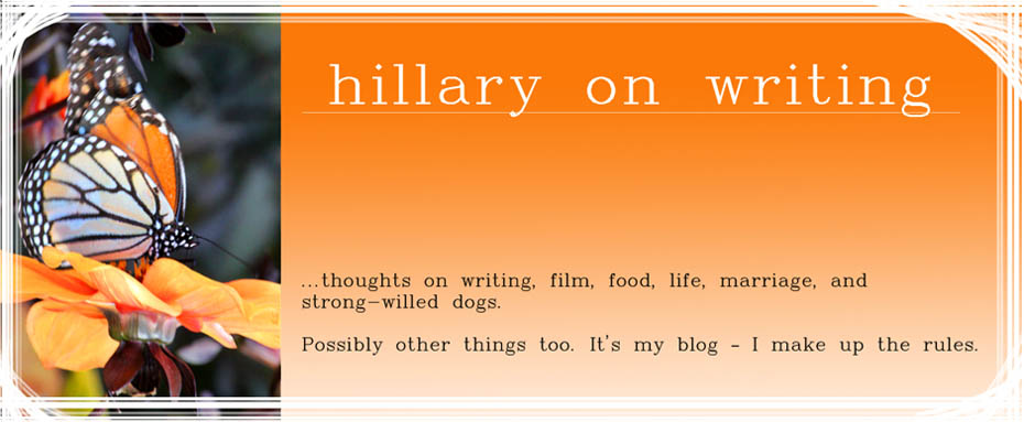 hillary on writing