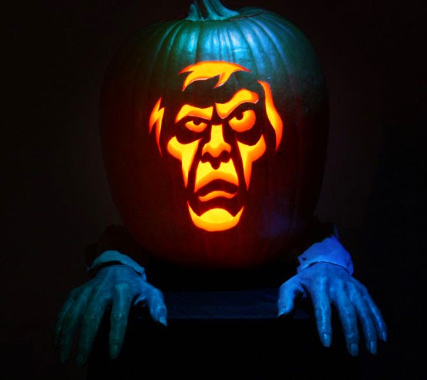 Pumpkin carving ideas for halloween 2014 for The coolest pumpkin carvings