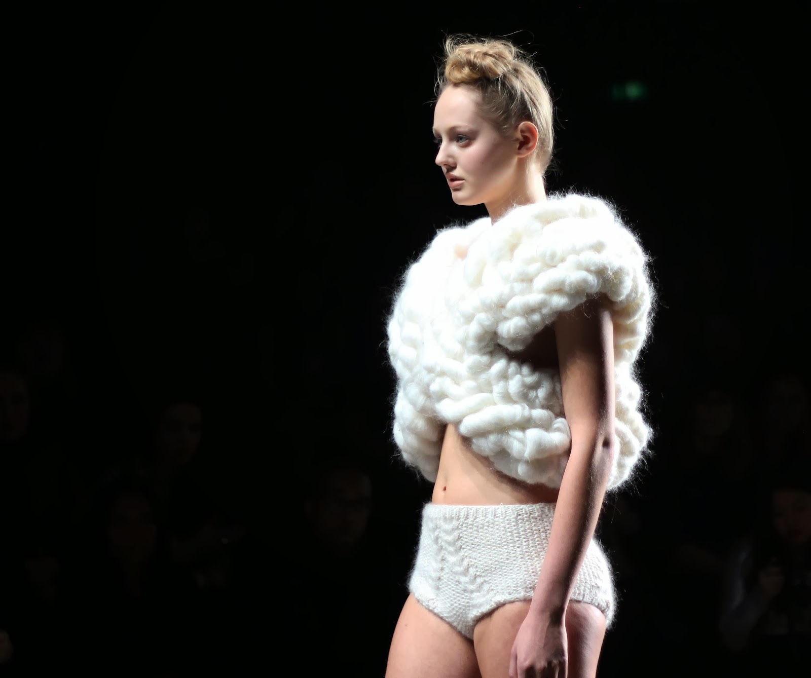 Winde Rienstra mercedez benz fashion week amsterdam 2014