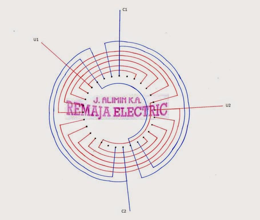 Honda Generator Set Condensor Regulation System Winding Diagram