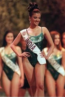 aishwarya rai miss world photos in swimming costume round
