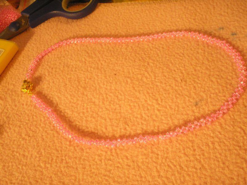 2) Находим середину цепочки