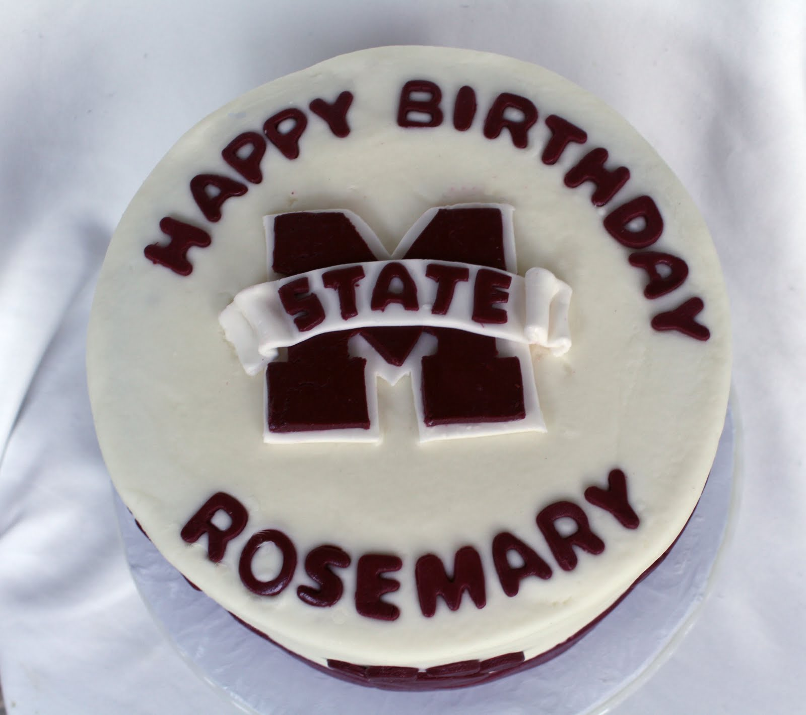 Mississippi State Cake Decorations