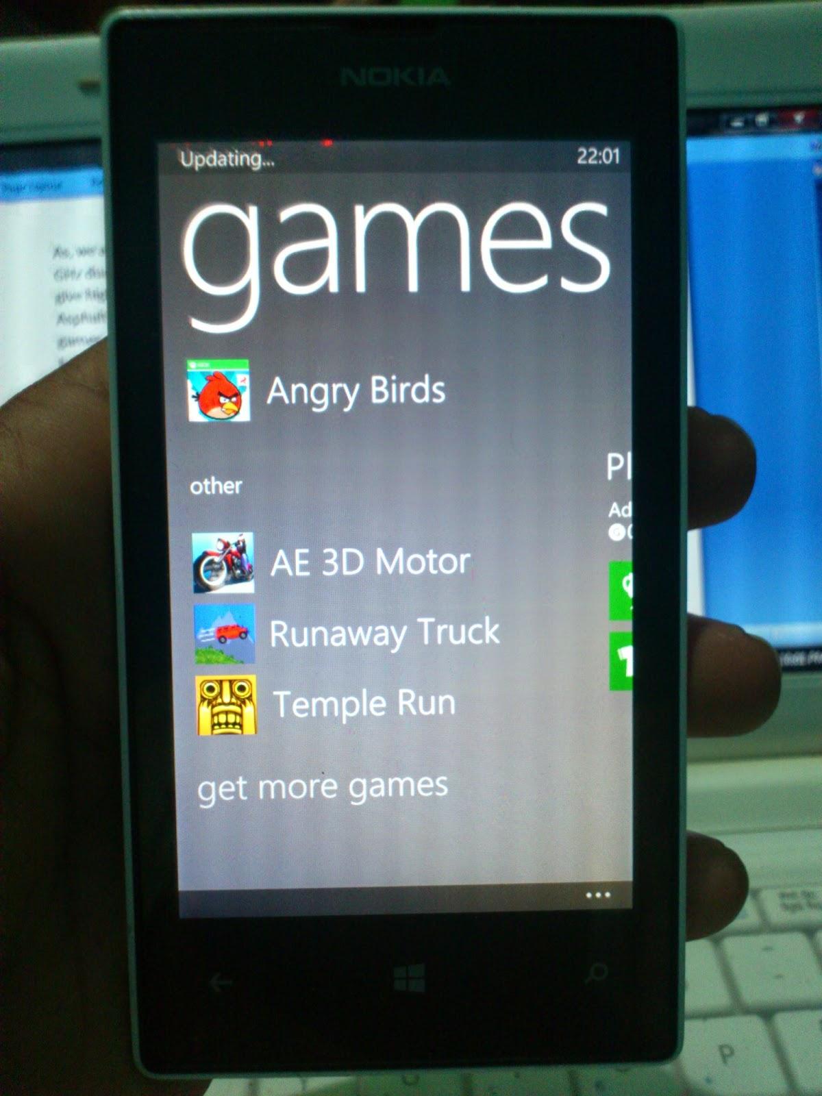Nokia Lumia 520 Games Experience
