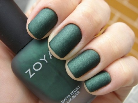 green matte nail art designs - 18 Green Nail Art Design Ideas For Your Inspiration Nail Art Designs