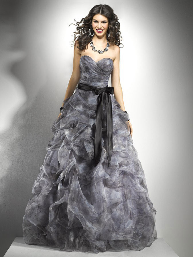 Fashion And Stylish Dresses Blog: Prom Dresses From Flirt by Maggie ...