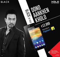 Buy Xolo Black phone with twin-camera priced under Rs 10,999 : Buytoearn