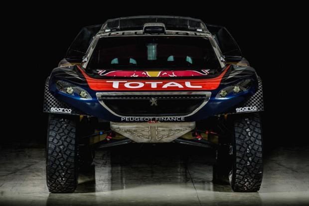 imagens da versão final do Peugeot 2008 DKR