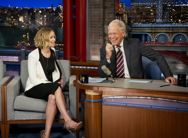 jennifer lawrence david letterman mockingjay part one