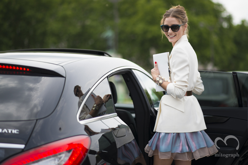 mitograph Olivia Palermo After Dior Paris Haute Couture Fashion Week 2013 Fall PFW Street Style Shimpei Mito