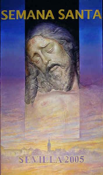 Cartel de la Semana Santa de Sevilla 2005