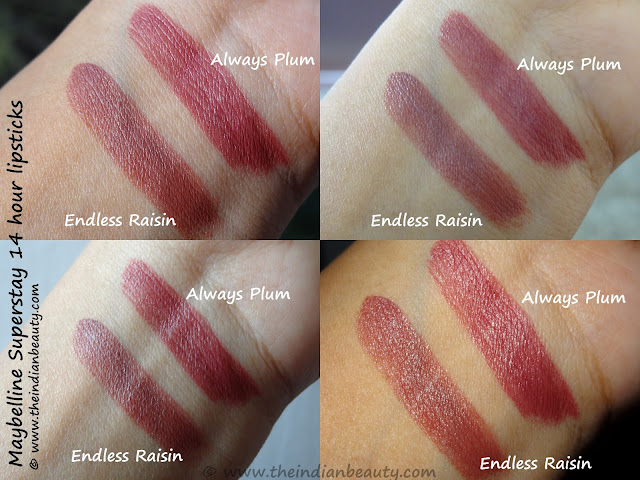 maybelline superstay lipcolor endless raisin swatch, maybelline superstay lipcolor endless raisin swatches