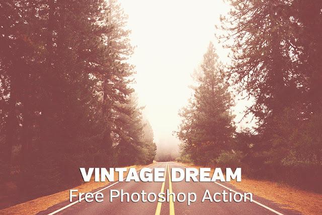 Vintage Dream Photoshop Action