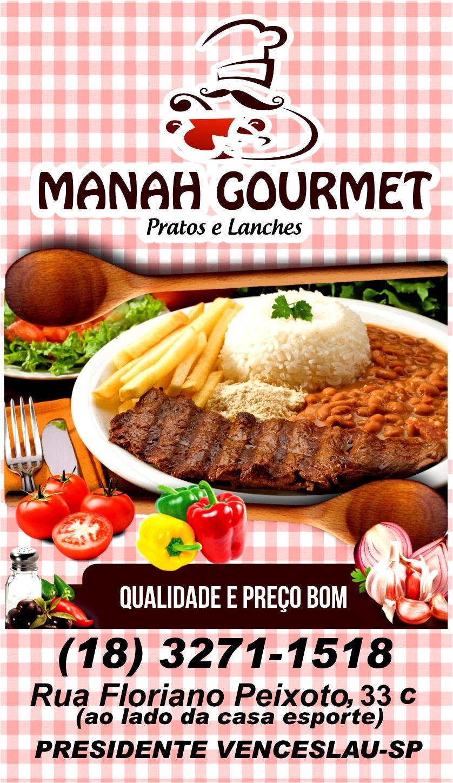 Manah Goumert - Pratos e Lanches