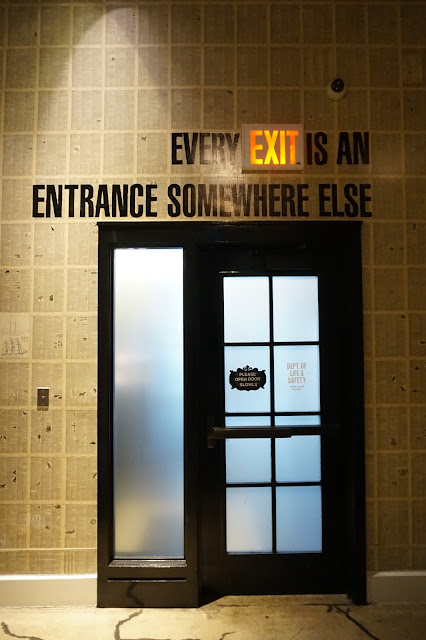 ace hotel in new york city every exit is an entrance somewhere else