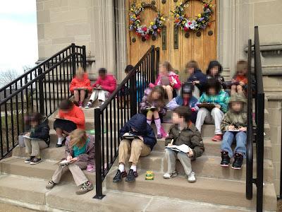 My first grade tree observers