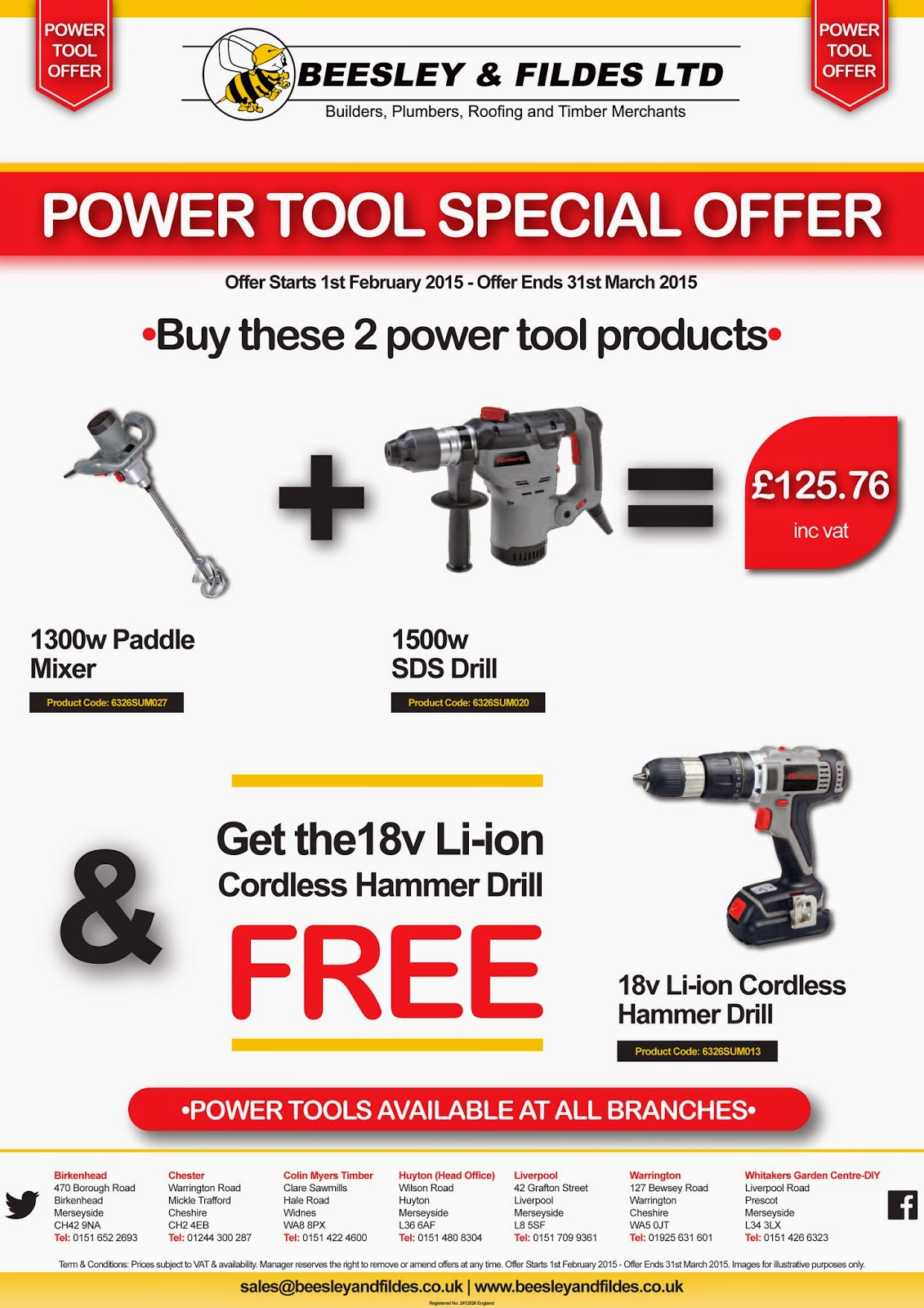 Power Tool Promo Pack 4