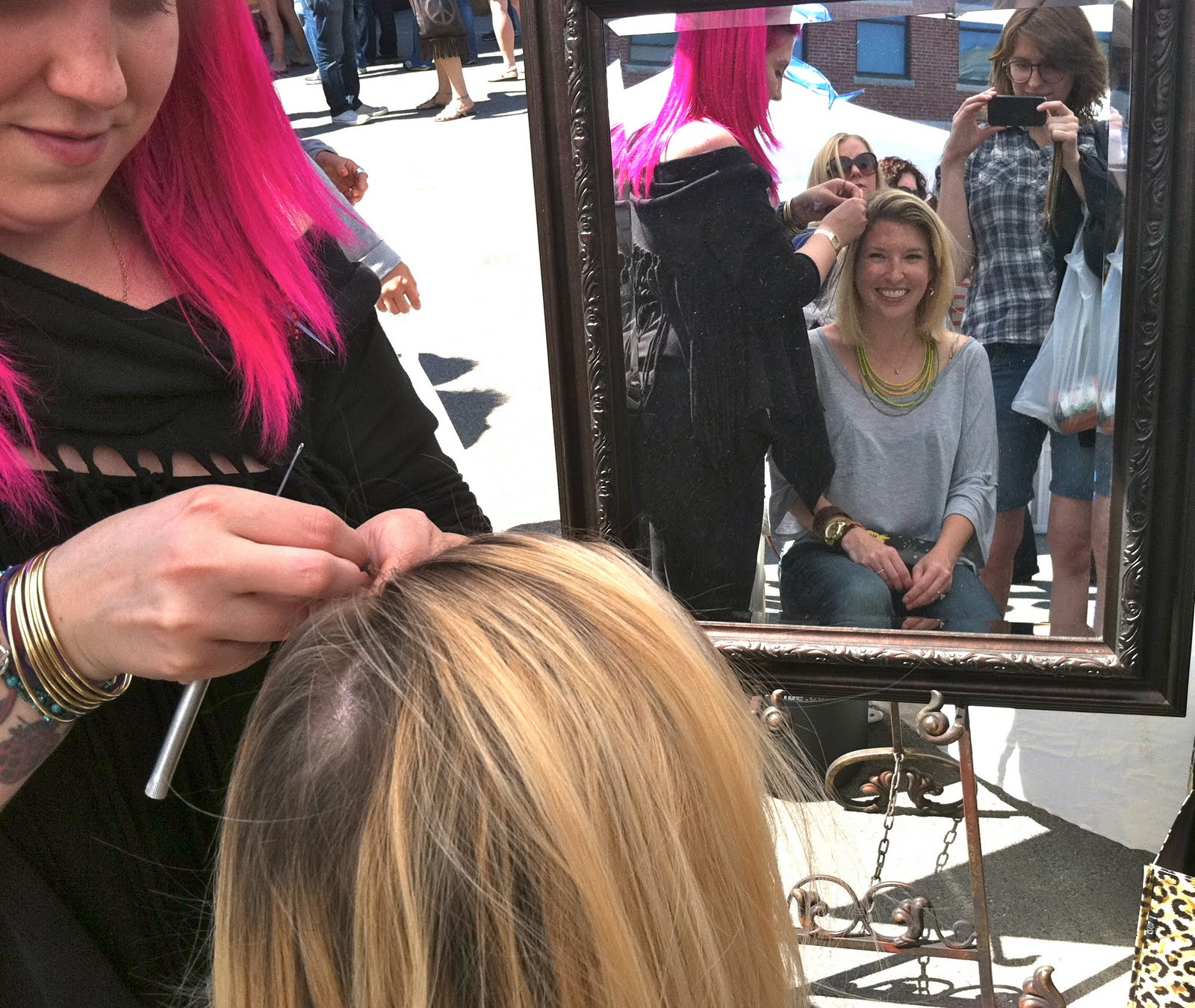 Bonus Beauty Post Feathered Hair The Boston Fashionista
