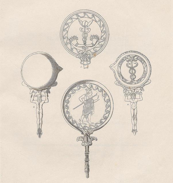Espejos etruscos