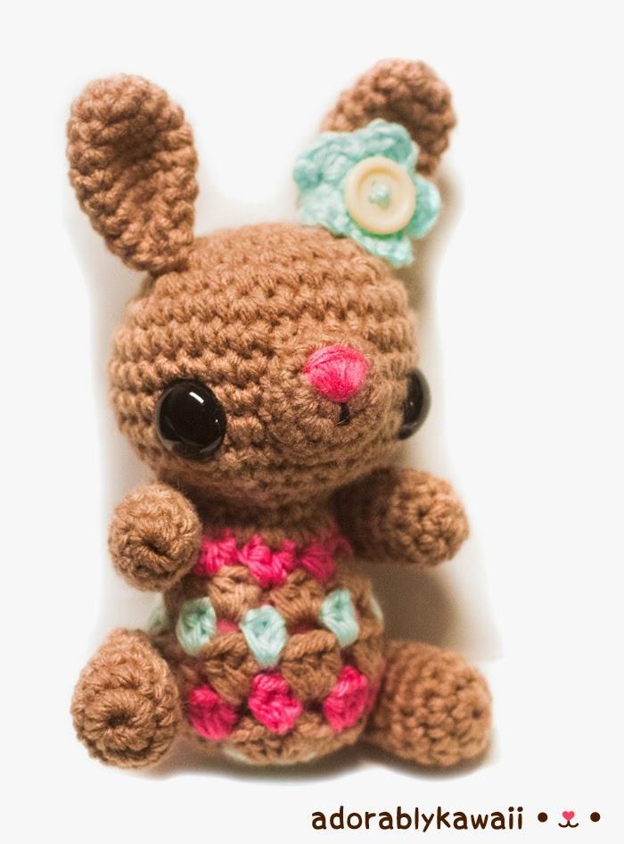 Cute Amigurumi Patterns Free : Free Pattern: Cute Little Bunny Amigurumi - Tiny Moon