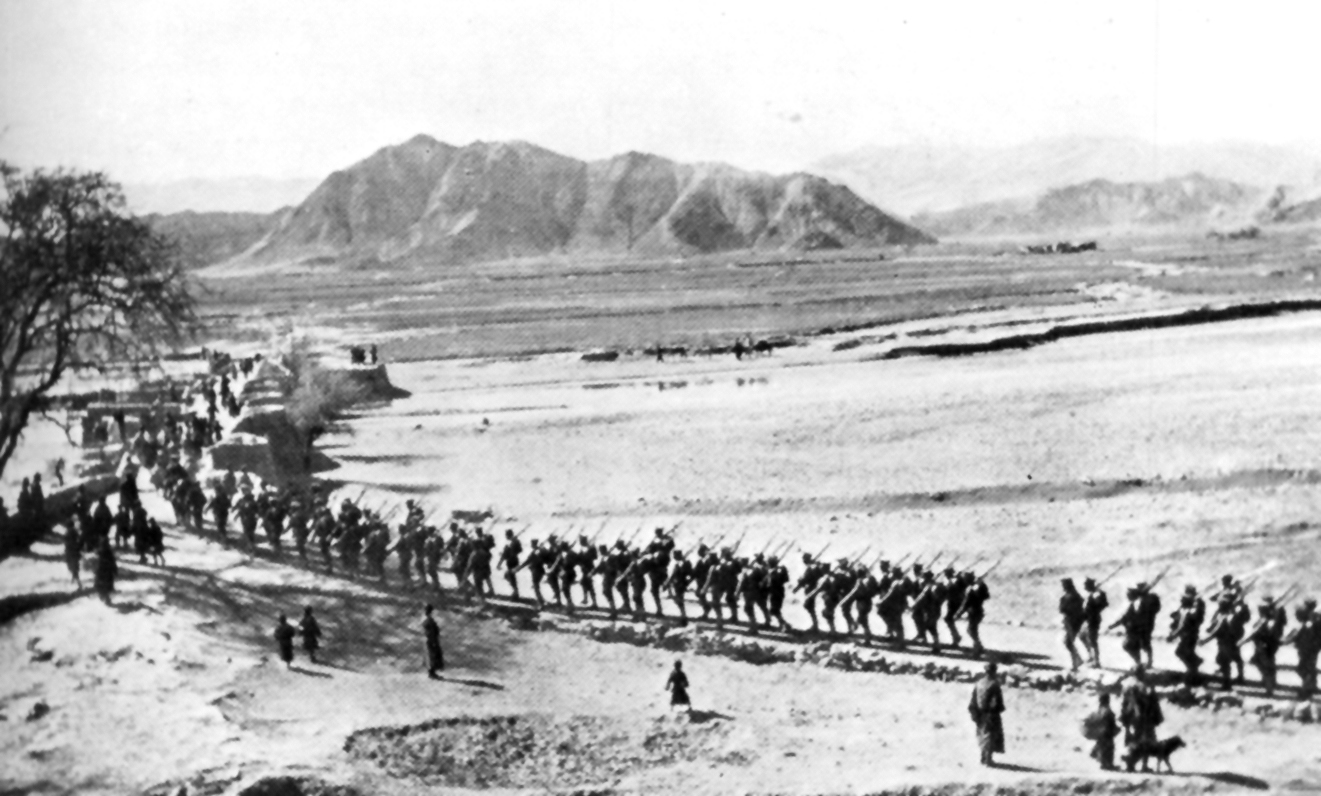 the background of the chinese communist governments invasion of tibet in 1949 1950 Throughout its short existence, the republic of china (1912-1949) experienced a   the kumul rebellion, the sino-tibetan war, and the soviet invasion of  xinjiang  northern expedition and ended when major hostilities ceased in  1950  government to eventually fall in response to a communist invasion of  taiwan.