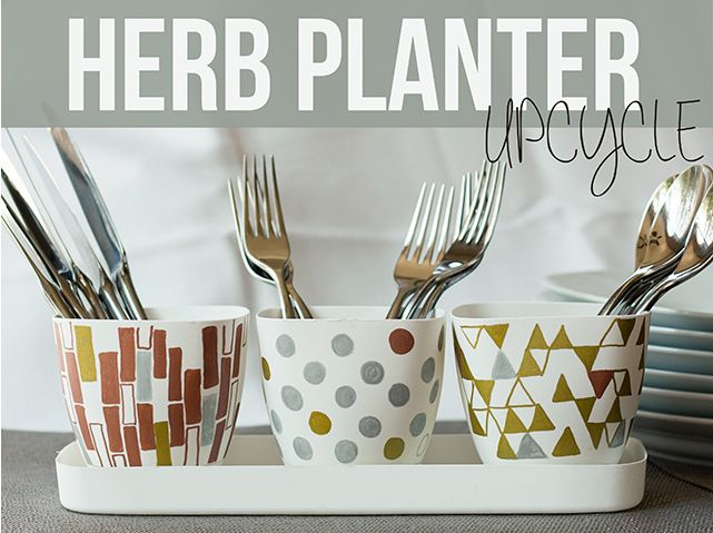 Herb Planter Upcycle