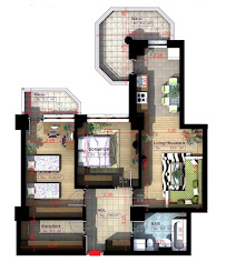 Royal Town Copou Iasi - Apartament 3 camere - 76,10 mp
