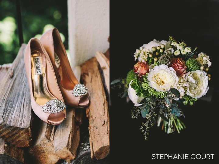 blush pink wedding shoes
