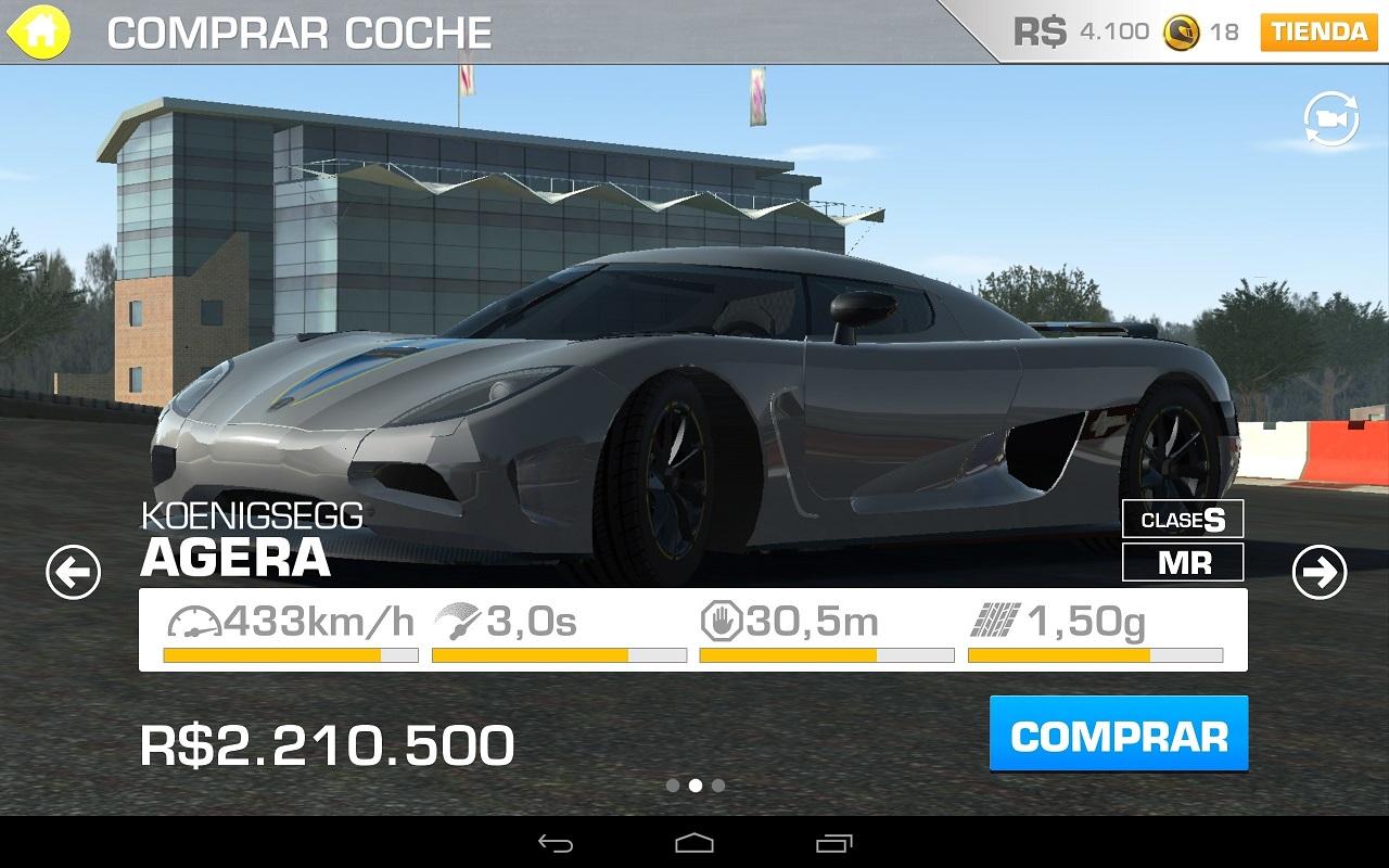 Real Racing 3 para Android, iPhone e iPad